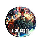 Doctor Who Carrying Amy Pond Button Magnet
