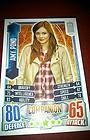 Alien Attax Dr Who 50th Anniversary. Amy Pond Companion card