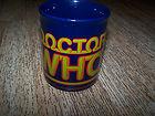 BBC 1985 DOCTOR WHO ORIGINAL MUG