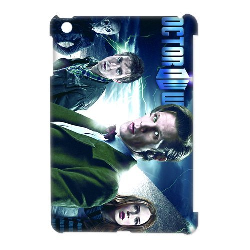 Doctor Who Science Fiction Show Fashion Cool Style iPad Mini 3D Case Cover-Best Protective Hard Plastic Cover