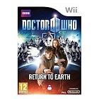 DOCTOR DR WHO RETURN TO EARTH NINTENDO Wii=NEW+SEALED=CYBERMEN+DALEKS=UK GAME