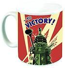 "Doctor Who 10 oz Coffee Mug: Dalek ""To Victory"""