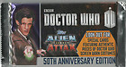 DR DOCTOR WHO ALIEN ATTAX 50TH ANNIVERSARY X4 PACKETS OF CARDS