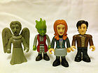 Bundle DOCTOR WHO mini FIGURES kids toys Dr Who Amy Pond Screaming Angel