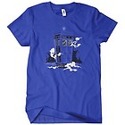 Womens The Mysterious Police Box T-Shirt Awesome Tardis Doctor Who Tee DR Dalek