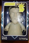 DR WHO VINYL FIGURE FROM TITANS STATUE OF LIBERTY WEEPING ANGEL GLOW IN THE DARK