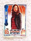 Dr Who Alien Attax Amy Pond Doctor Rainbow Foil Karen Gillan Time Lord Topps