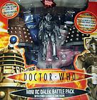 sale DOCTOR WHO Battle Pack remote control DALEK + Cyberman Leader action figure