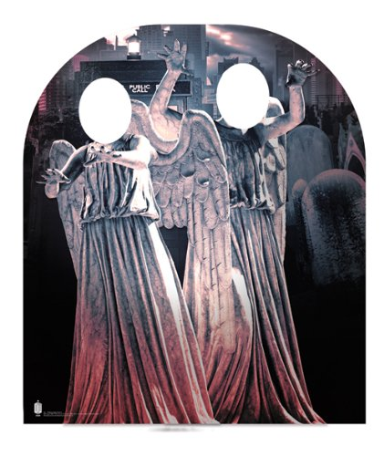 Doctor Who Weeping Angel Child Size Cardboard Stand-in Cutout