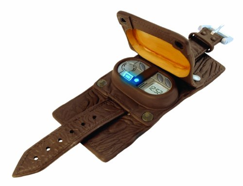 Doctor Who Children's Quartz Watch with LCD Dial Digital Display and Brown Other Cuff DR234