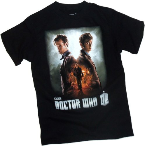 Day Of The Doctor — Doctor Who Adult T-Shirt, Small