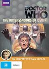 Doctor Who Ambassadors of Death DVD NEW PAL REGION 4