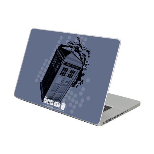Diabloskinz Vinyl Adhesive Skin, Decal, Sticker for the 13 Inch MacBook Air skins – Police Box Pop Art