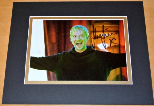 Sportagraphs JOHN SIMM HAND SIGNED AUTOGRAPH 10X8 PHOTO MOUNT DOCTOR DR WHO THE MASTER & COA