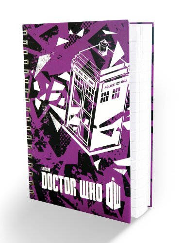 Doctor Who A6 Notebook – Turquoise