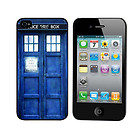 Tardis Doctor Dr Who Police Box Hard Case Cover for iPhone 4S 4G 4
