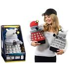 Doctor Who 15'' Deluxe White Dalek Talking Plush with LED Light Brand New