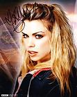 BILLIE PIPER as Rose Tyler – Doctor Who GENUINE AUTOGRAPH UACC (Ref:7883)