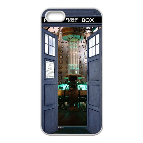 Top Quality Tardis Doctor Who Police Box Fashion Durable Hard Plastic Cover Case (HD Image) For Iphone 5,5s
