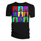 DALEK PSYCHEDELIC SQUARES T-SHIRT MENS S M L XL RETRO TEE TOP DOCTOR WHO POP ART