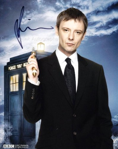 JOHN SIMM as The Master – Doctor Who GENUINE AUTOGRAPH
