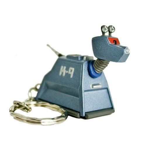 Doctor Who Diecast Metal Keyring – K-9 design