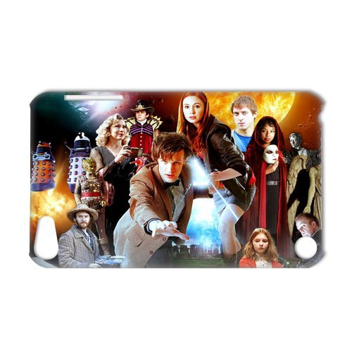 3D Print Classic Science-fiction Drama Doctor Who Case Cover for IPod Touch 5- Personalized Cell Phone Protective Hard case Shell