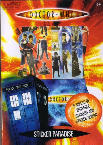 Doctor Who Sticker Paradise