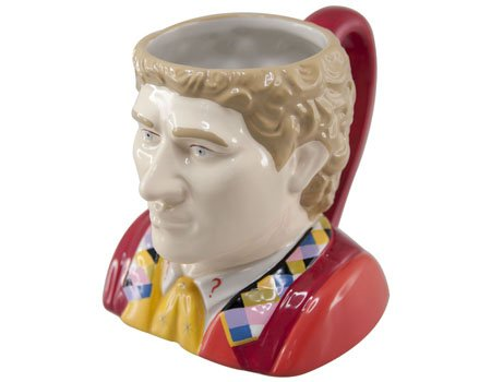 DOCTOR WHO Sixth Doctor Collectors Ceramic 3D Mug (DR201)