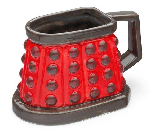 Doctor Who Dalek 3D Mug RED – BBTradesales