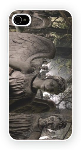 Iphone 4 and 4s, doctor who weeping angel TV iPhone, Newly printed snap on phone case – high gloss quality