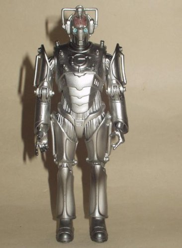 RARE DR WHO CYBERMEN CYBER LEADER 6″ ACTION FIGURE