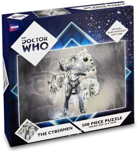 THE CYBERMEN 500 PIECE PUZZLE SPECIAL ANNIVERSARY EDITION