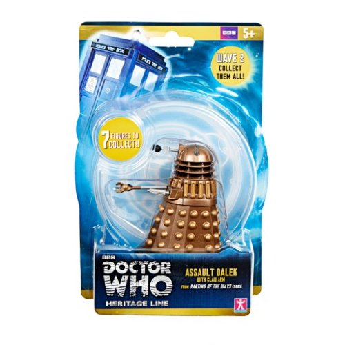 Doctor Who Wave 2 Action Figure – Assault Dalek with Claw Arm