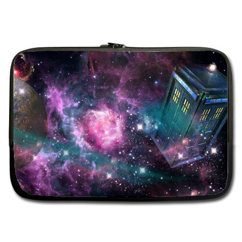 Doctor Who Tardis Neoprene Laptop Bag Sleeve Case for 13 Inch MacBook Pro