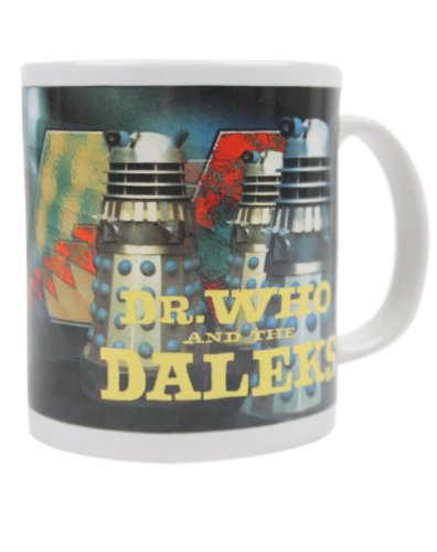 Dr Who and The Daleks Laser Mug