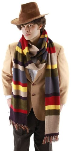 Dr. Doctor Who 4th Fourth Costume Accessory Scarf (Standard 6ft)