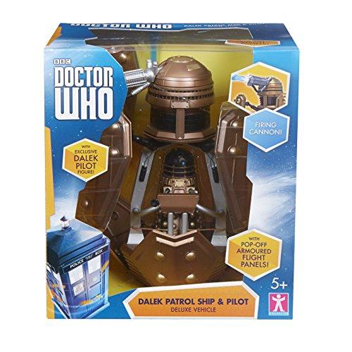 Doctor Who Dalek Patrol Ship and Figure