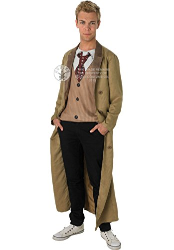 Dr. Who 10th Doctor Who Costume (Extra Large)