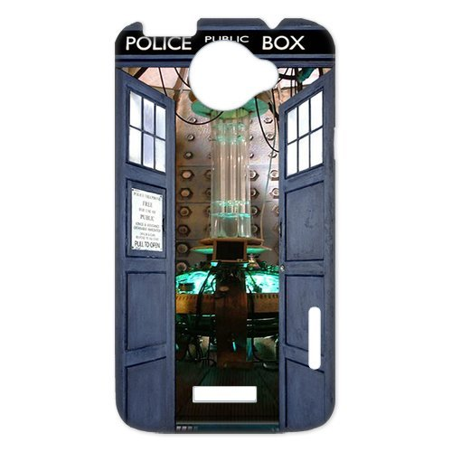 Top Quality Tardis Doctor Who Police Box Fashion Durable Hard Plastic Cover Case (HD Image) For HTC one x
