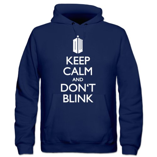 Keep Calm and Don't Blink Kids' Hoodie by Shirtcity