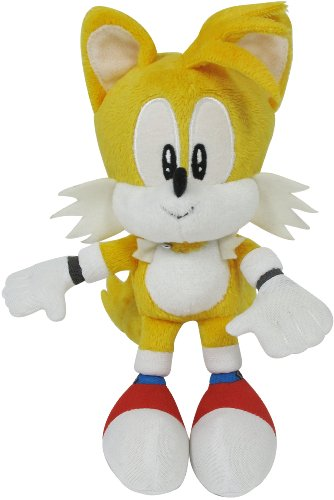 Sonic The Hedgehog 7-inch Sonic Classic Plush Tails