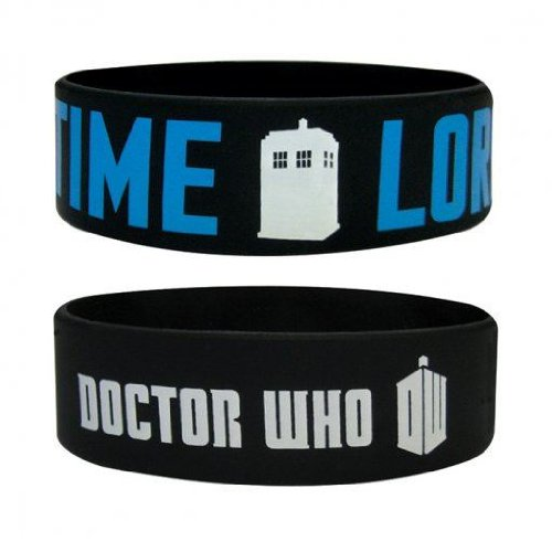 Trendy Doctor Dr Who Wristband Bracelet – Time Lord Design