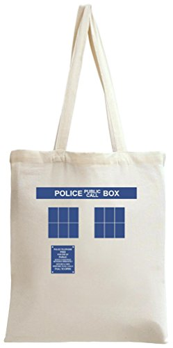 Doctor Who Police Box Tote Bag