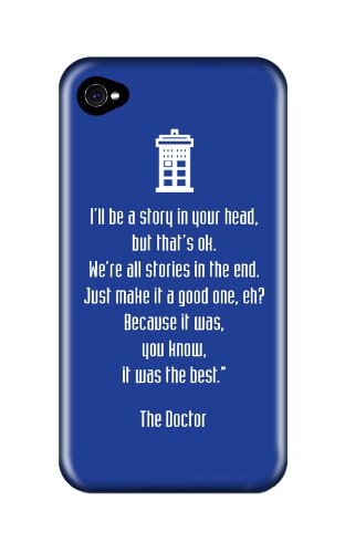 Dr Who 50th Anniversary Stories iphone 4/4s case