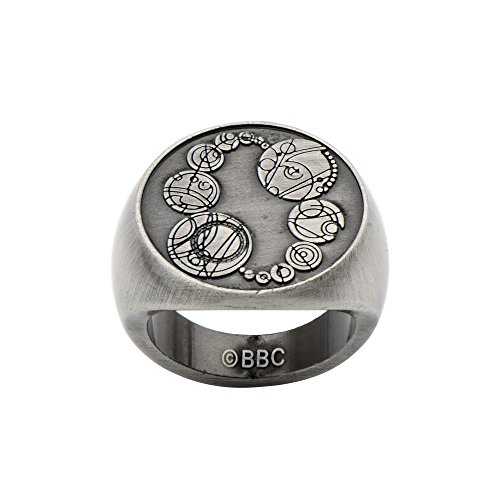 Doctor Who Masters Saxon Signet Ring (Size 10)