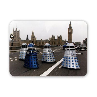 TV Programme Doctor Who Daleks sighted on.. – Mouse Mat Art247 Highest Quality Natural Rubber Mouse Mats – Mouse Mat