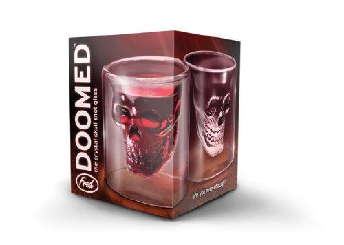 Fred Doomed Shot Glass, Transparent