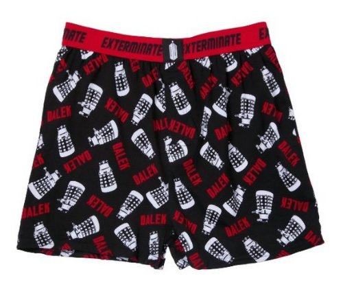 Doctor Who Dalek All Over Boxer Shorts | L