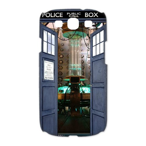 Top Quality Tardis Doctor Who Police Box Fashion Durable Hard Plastic Cover Case (HD Image) For Samsung galaxy s3 i9300 3D